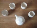 teapot and cups - 2010