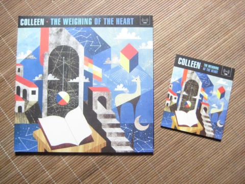 Colleen The Weighing of the Heart vinyl and CD S
