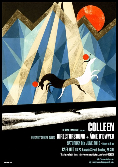 COLLEEN_CAFE_OTO_POSTER by iker spozio