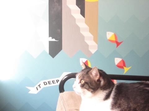 kiska and mural