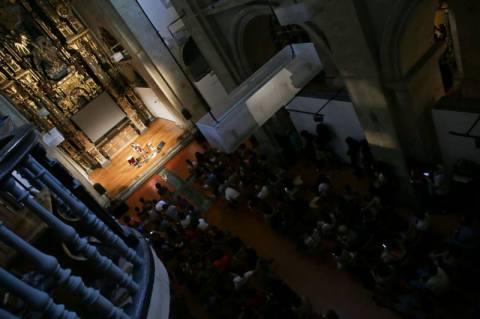 colleen at wos inc, santiago de compostela, 13 September 2014
